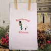 Christmas Tea Towel Baaa Humbug Personalised Tea Towel
