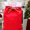 Christmas Sack Traditional Red Gift Sack