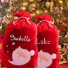 Red Velvet Luxury Santa Sack