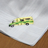 Ambulance Handkerchief Personalised Embroidered Hanky