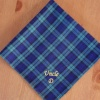 Mens Handkerchief Personalised Blackwatch Tartan