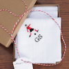 Football Handkerchiefs Personalised Footballer Hankies