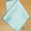 Personalised Satin Handkerchief Embroidered Light Blue Satin Hanky