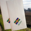 Personalised Hanky Lincolnshire Flag