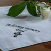 Memorial Handkerchief Personalised Funeral Hanky