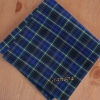 Mens Handkerchief Green Stewart Tartan Personalised Hanky