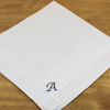 Initialled Mens Hankie