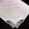 Ladies Long Message Embroidered Hanky