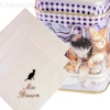 Ladies Personalised Hanky Set of 3