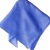 Mens Silk Handkerchief Medium Blue