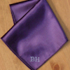 Purple Satin Handkerchief