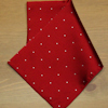 Red Pin Dot Handkerchief