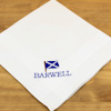 Personalised Handkerchief Gift Set - Scotland Scottish Saltire