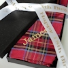 Personalised Hankies Ribbon Boxed Gift