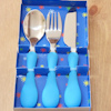 Kids Cutlery Set Blue Dinner Set
