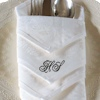 Personalised Dinner Napkin Damask Linen Table Napkin