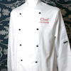 Personalised Chefs Jacket Long Sleeve with Embroidery