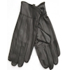 Mens Leather Gloves Large Black