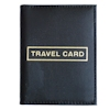 Travel Card Cover Leather Travel Card Bus Pass Holder