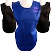 Royal Blue Cotton Tabard with Embroidery
