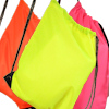 PE Gym Sack Personalised Hi Vis Fluorescent Yellow Bag