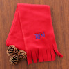 Childrens Red Scarf Kids Personalised Scarf