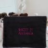 Makeup Bag Personalised Embroidered Cosmetics Case