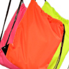 Personalised PE Bag Hi Vis Orange Gym Sack