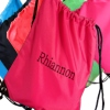 Pink School PE Sports Drawstring Bag
