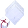 50 Personalised Cotton Hankies