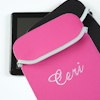 Personalised iPad Sleeve Pink