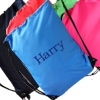 Sky Blue School PE Sports Drawstring Bag