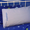 Kids Blue Embroidered Pillowcase