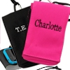 Personalised Smartphone Pouch Pink Mobile Phone Case