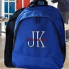 Personalised Backpack Royal Blue Embroidered Rucksack