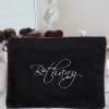 Embroidered Signature Toiletries Case
