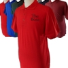 Personalised Shirt Embroidered Polo Shirt Red
