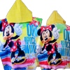 Childrens Poncho Towel Minnie