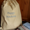 Name Embroidered Laundry Sack