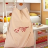 Personalised Laundry Bag Canvas Laundry Sack Embroidered