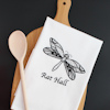 Embroidered Drying Up Towel