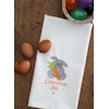 Easter Tea Towel Personalised Bunny Tea Towel