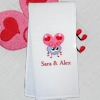 Personalised Tea Towel Love Bug Tea Towel