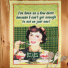 1950s Diets Tea Towel