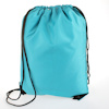 Personalised Gym Bag Aqua Blue Sports PE Sack