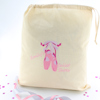 Personalised Dance Bag Dancers Ballet Shoes Embroidery