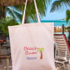 Beach Bag Personalised Palm Tree Tote Bag