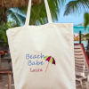 Beach Umbrella Tote Bag