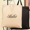 Personalised Cotton Tote Short Handled Embroidered Bag