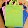 Personalised Childs Size Bag Lime Green Mini Tote Bag
